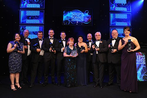 SHP IOSH Award Winners 2013