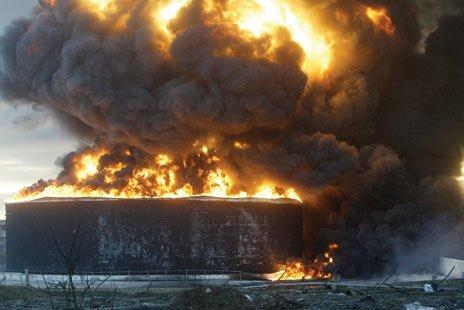 Buncefield-explosion