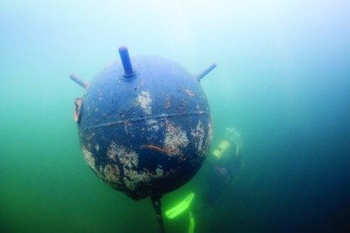 Diver mine 6Alpha