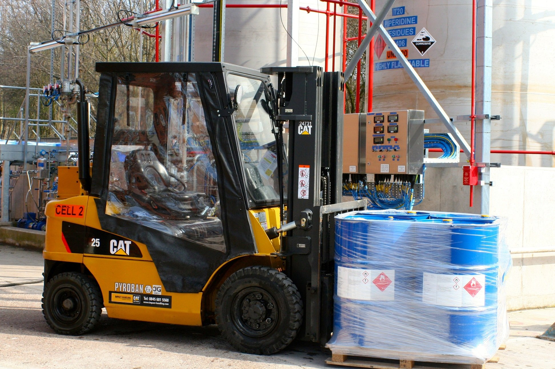 Forklift safety: Agency worker was run over by forklift truck