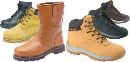 Safety Boots and Footwear: The Complete