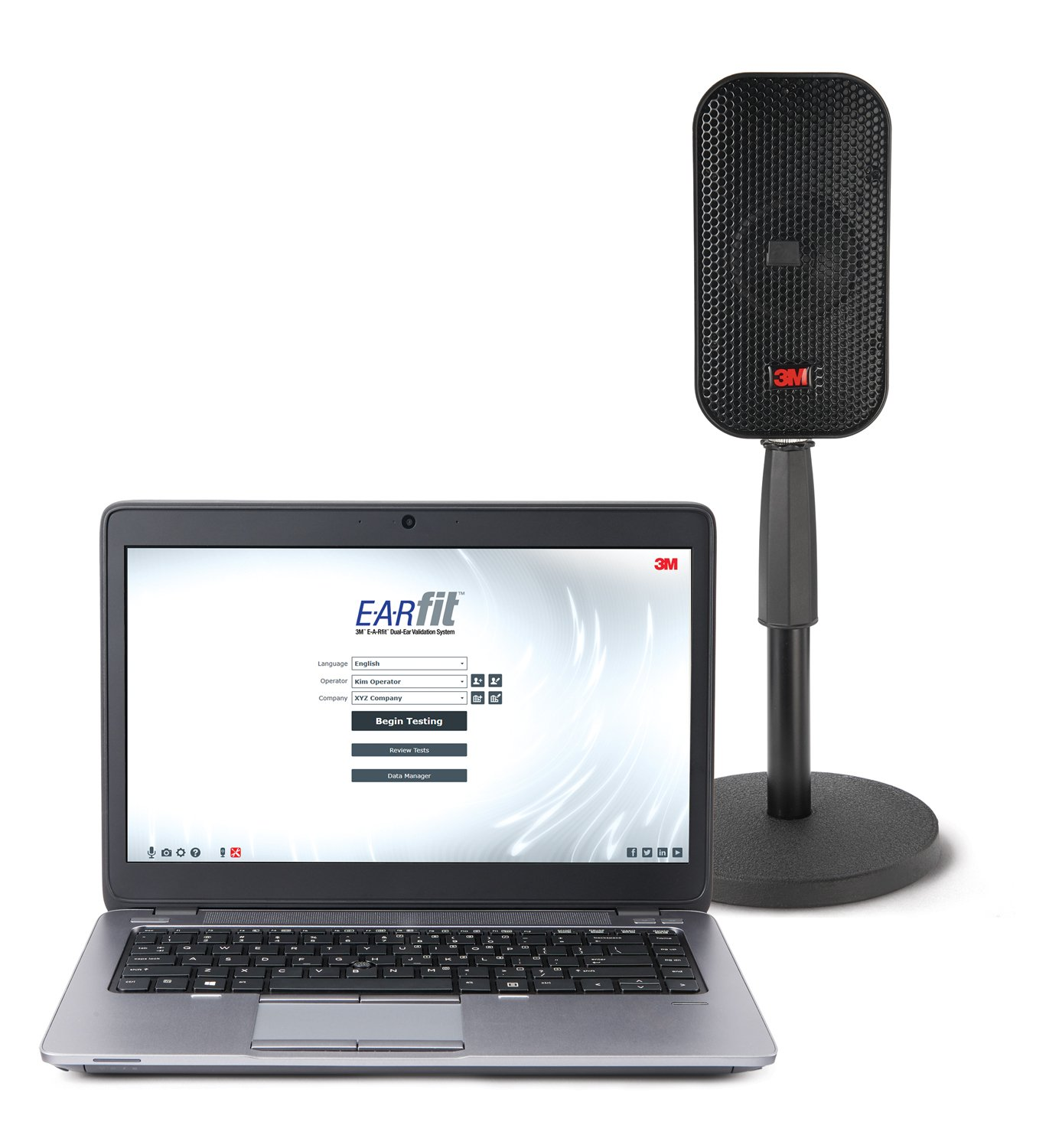 EARfit Dual-Ear Home Screen-Laptop and Speaker-Stand (002)