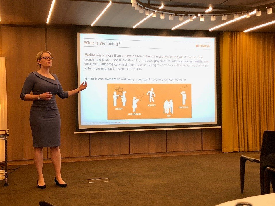 Judith Grant Mace at Women in health and safety event 3