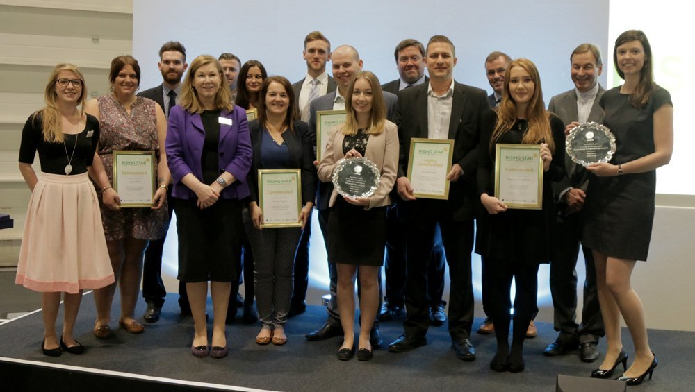 Rising stars in health and safety awards 2016 - group photo
