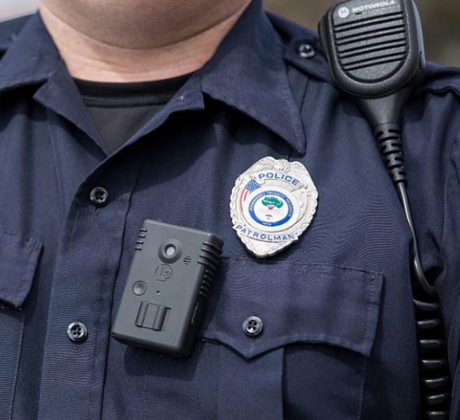 US Police body cam
