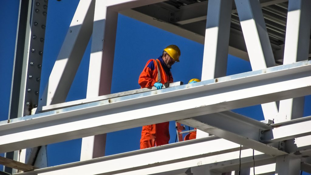 worker at height