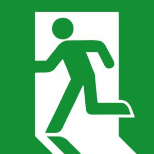 Fire safety: fire escape