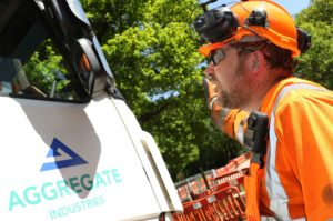Road worker safety Two-way headsets