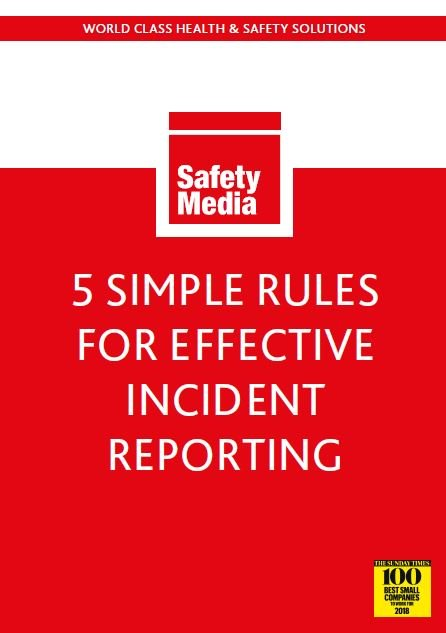 5 rules for effective incident reporting