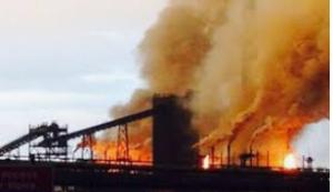 Tata steel explosion