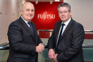 Stephen Phipson CBE Make UK CEO and Simon Head fujitsu