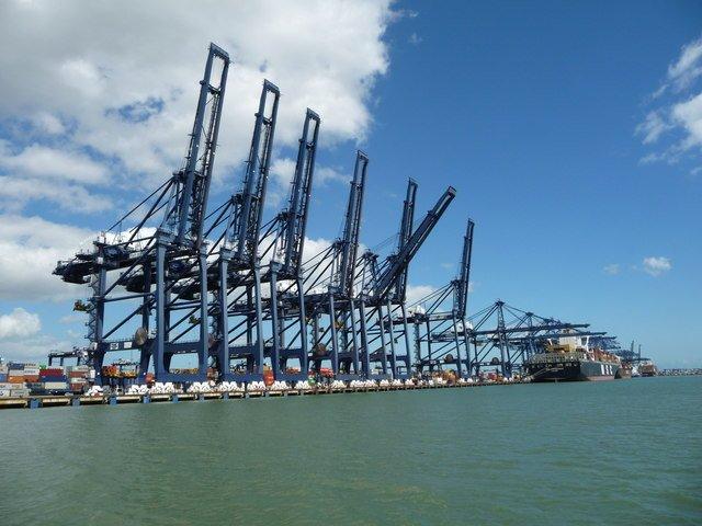 Port of Felixstowe Trinity Terminal