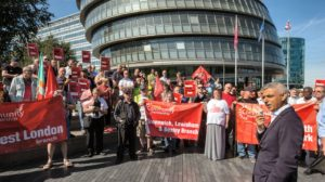 Unite Bus Driver Protest