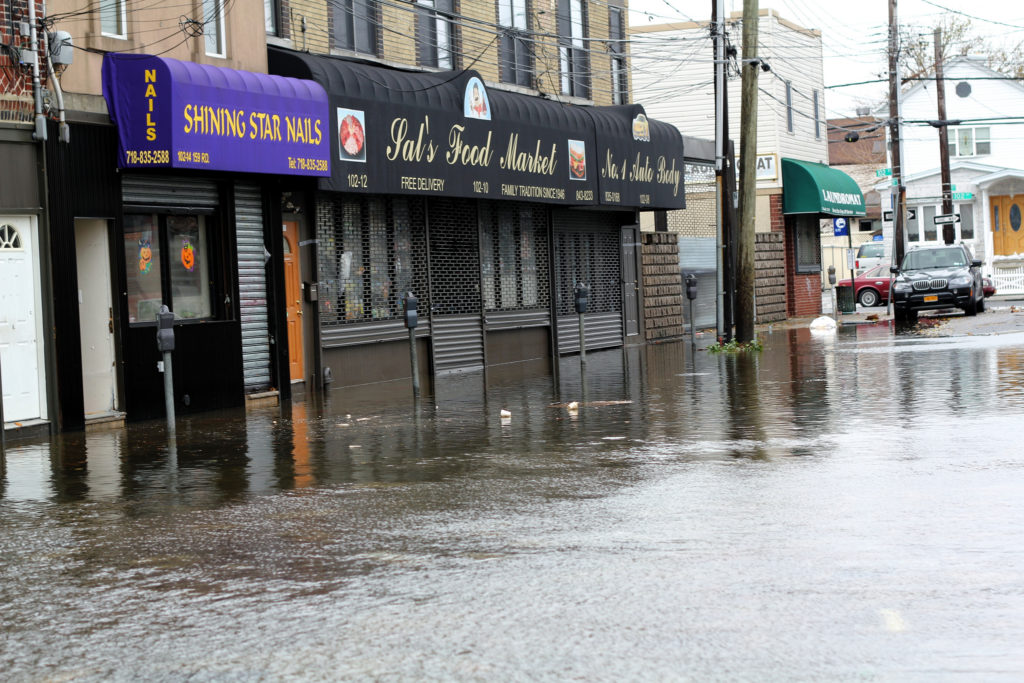 business flood in UK