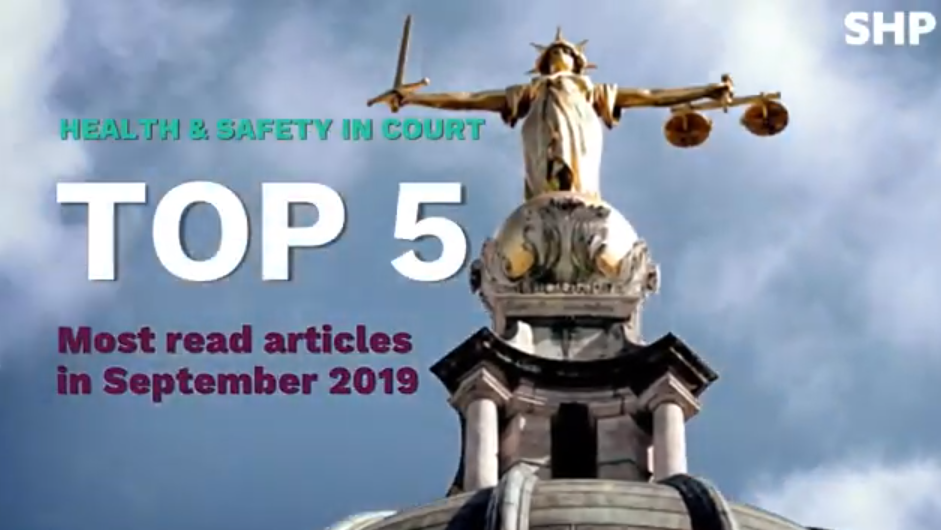 The top 5 most-read articles, in court in September