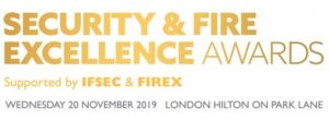 security fire excellence awards 2019 logo