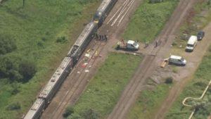 Margam rail accident