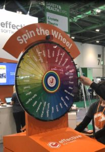 Engage EHS Spin the Wheel