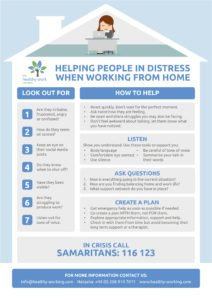 Helping Someone in Distress When Working from Home