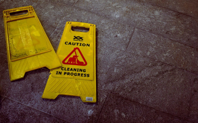 workplace safety cleaning
