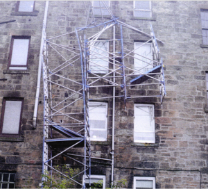 Scaffolding company fined after employee suffers severe injuries in scaffold collapse