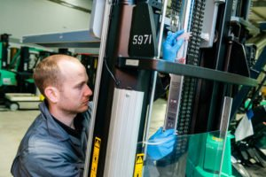 CFTS Fork Lift Inspection