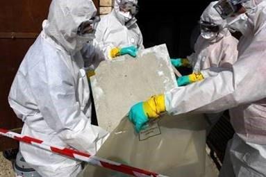 Asbestos discovery