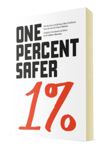 ONE PERCENT SAFER front cover