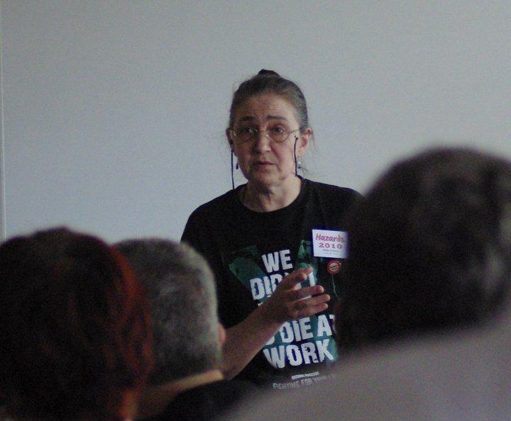 Hilda - We Didn't Vote to Die at Work T-Shirt