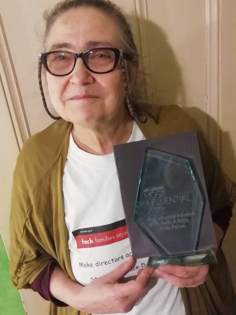 Hilda Palmer SHP Most Influential Award 2020