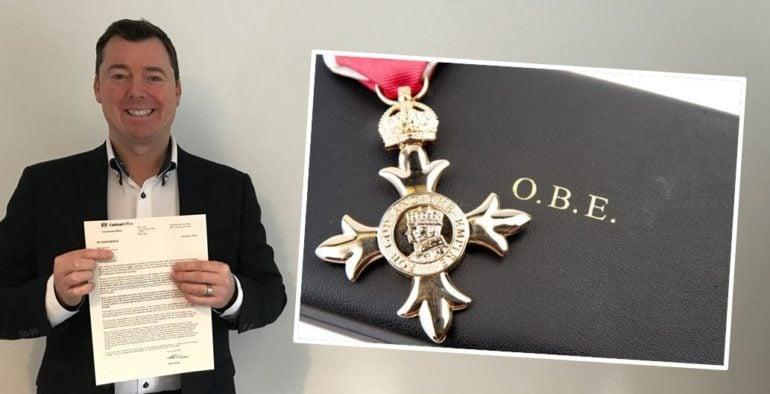 karl Simons OBE