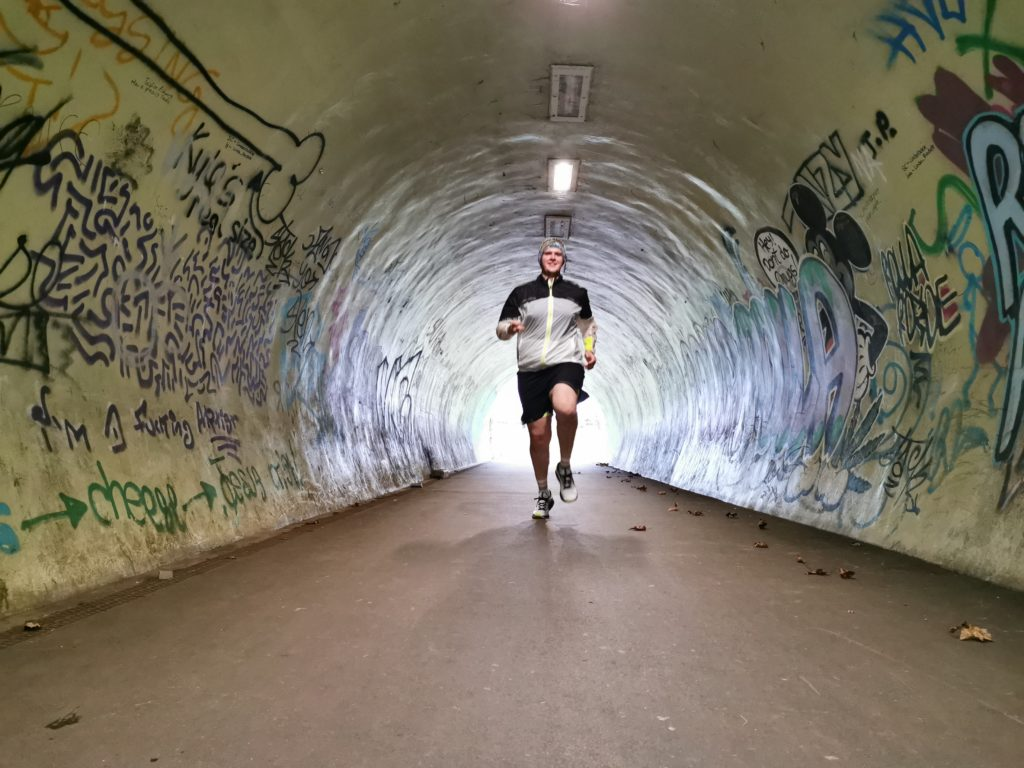 Thomas Dunning Mental Health Runner