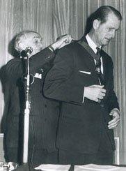 Duke of Edinburgh_invested as President of RoSPA_1965