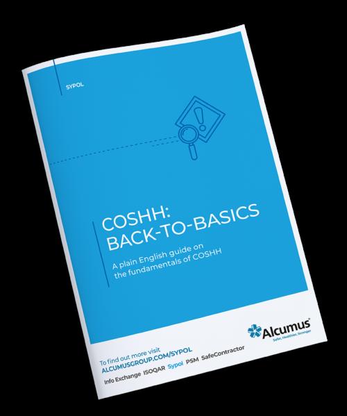 Alcumus COSHH ebook
