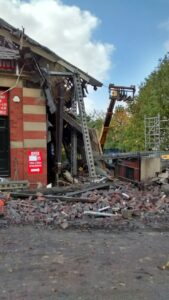 Plumbing supply company and contractor fined after building collapse