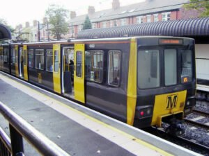 tyne and wear metro - Twiceuponatime, CC BY-SA 4.0 , via Wikimedia Commons