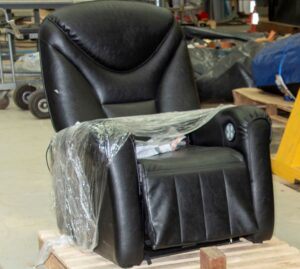 VUE cinema fine - Similar seat used for tests at HSL