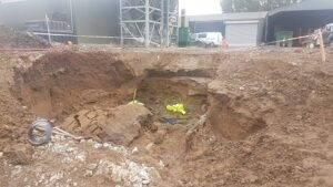 Construction company fined after excavation collapse