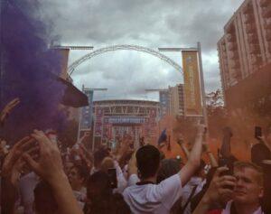 Euro 2020 Wembley fans
