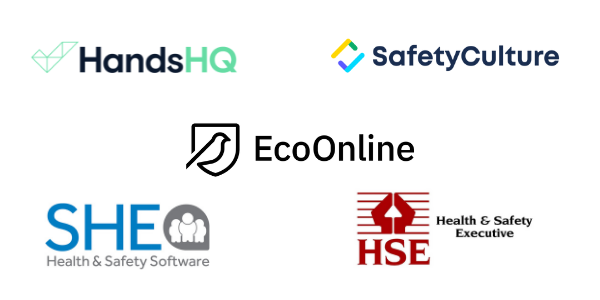 HandsHQ, SafetyCulture, EcoOnline, SHE Software, HSE
